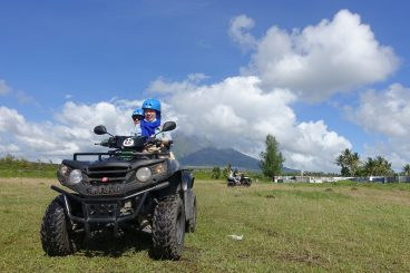 atv mayon volcano philippines