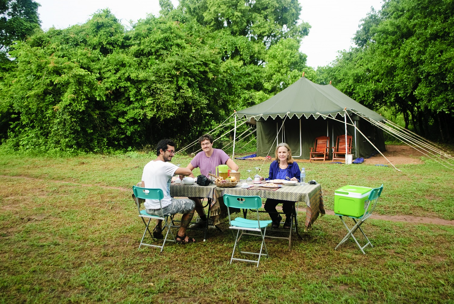 banteay chhmar camping glamping site