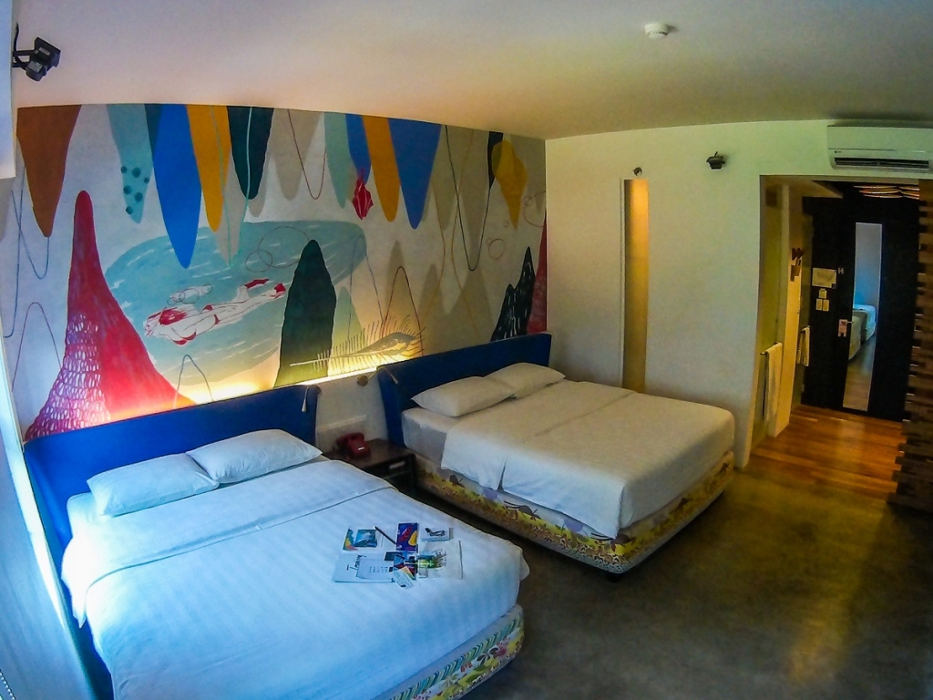 Deluxe room, Canvas Boutique Hotel