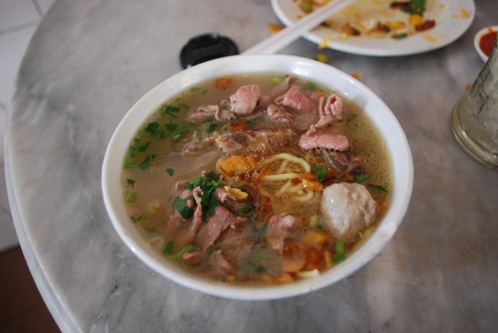 Beef kway teow, Penang
