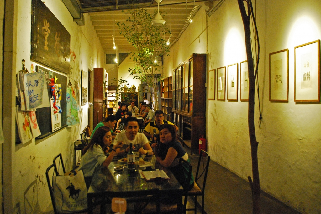 ChinaHouse interior, Penang