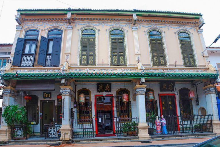 Baba Nyonya Museum in Melaka, Malaysia