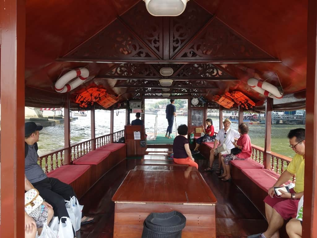 Free boat shuttle from Sathorn Pier to Avani Riverside Bangkok