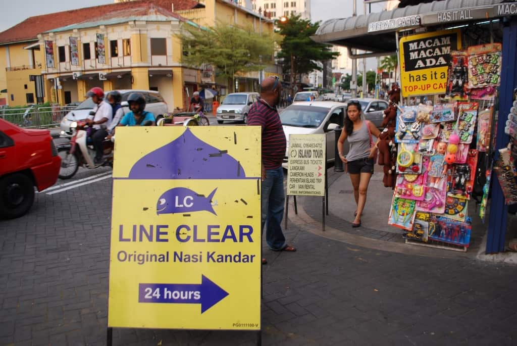 Line Clear in Penang, Malaysia