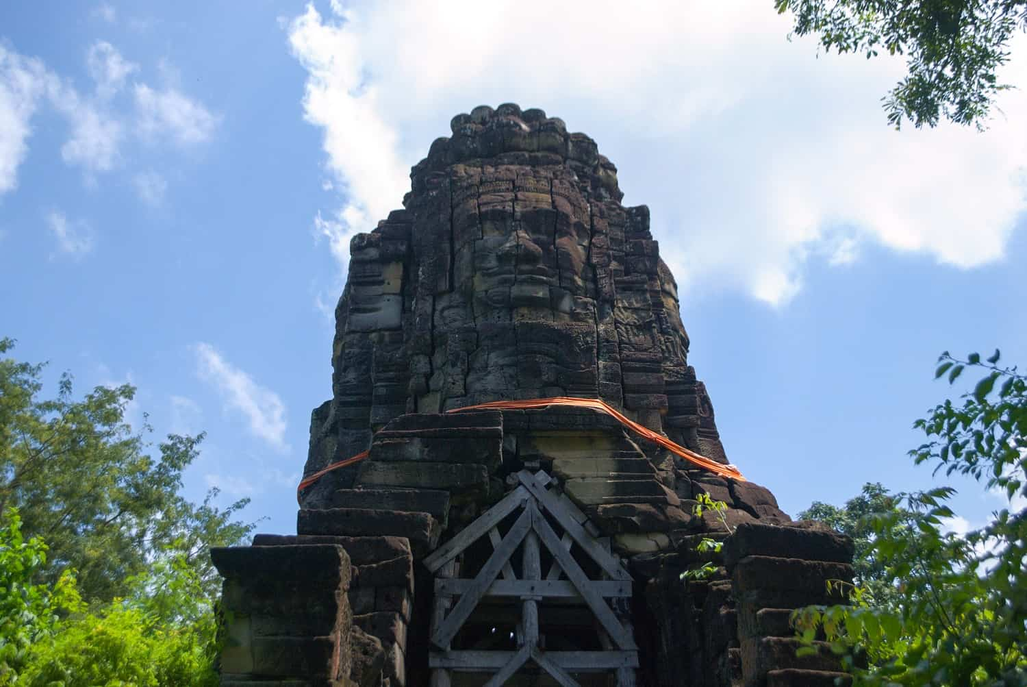 Face tower, Banteay Chhmar, Cambodia