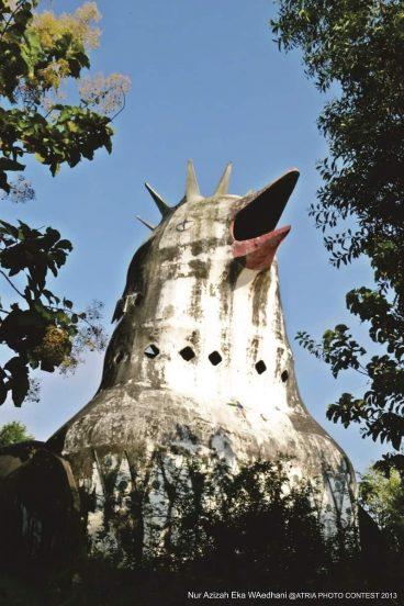 Gereja Ayam, Magelang, Indonesia.