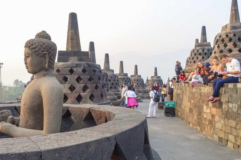 Borobudur, Magelang, Indonesia.