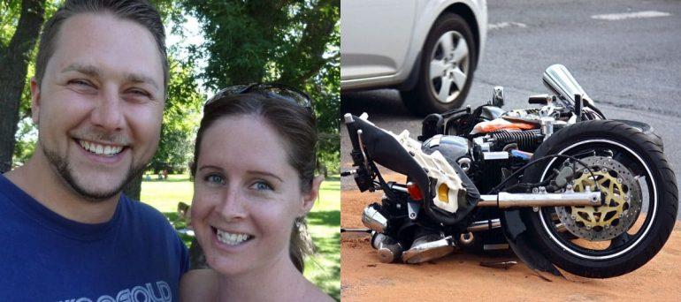 motorcycle crash and stortzes